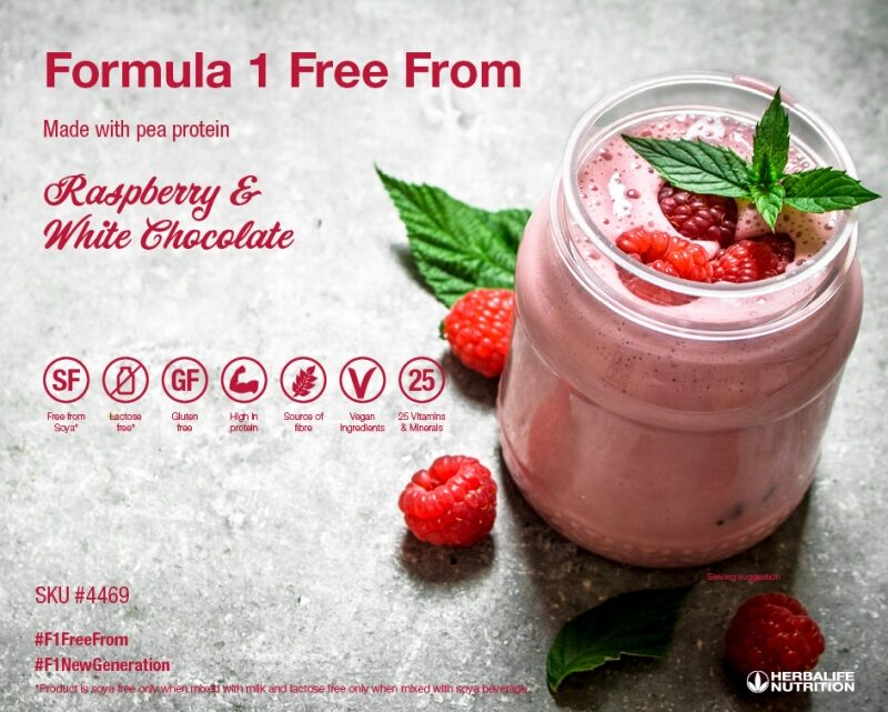 Free from Soy Pea Protein Shake