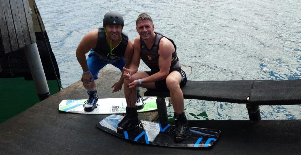 Dirk&Grant Wakeboarding