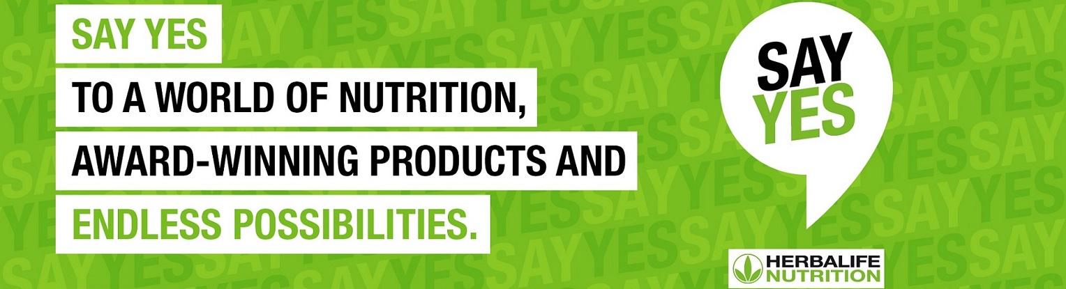 Say Yes to Herbalife Nutrition. Say Yes to a world of nutrition, award-winning products and endless possibilities.